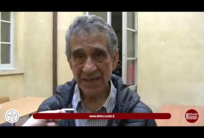 Progetto F.O.R.w.A.R.D. - Intervista a Farhad Khosrokhavar - 26 Marzo 2019